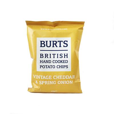 Burts Vintage Cheddar & Onion Crisps