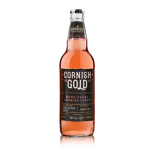 Cornish Gold Rose Petal